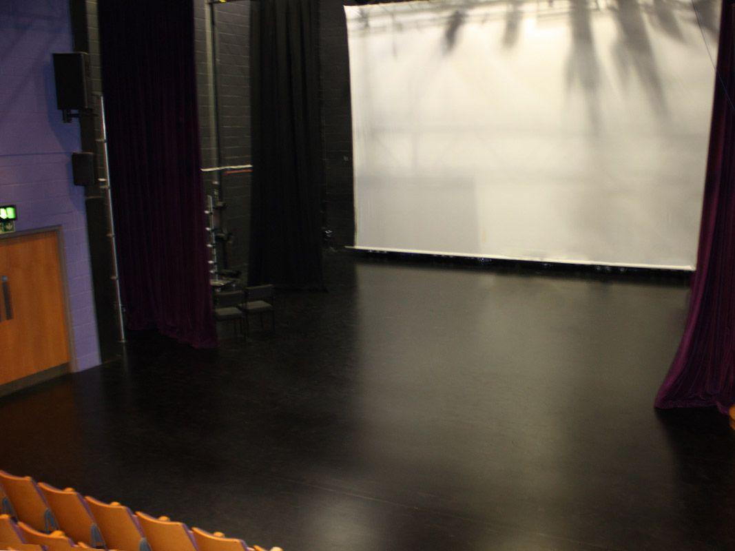 Sprung Stage Floor For Edge Hill University Le Mark Floors