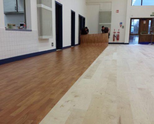 Cadenza™ Anti-Bacterial Floor Installation