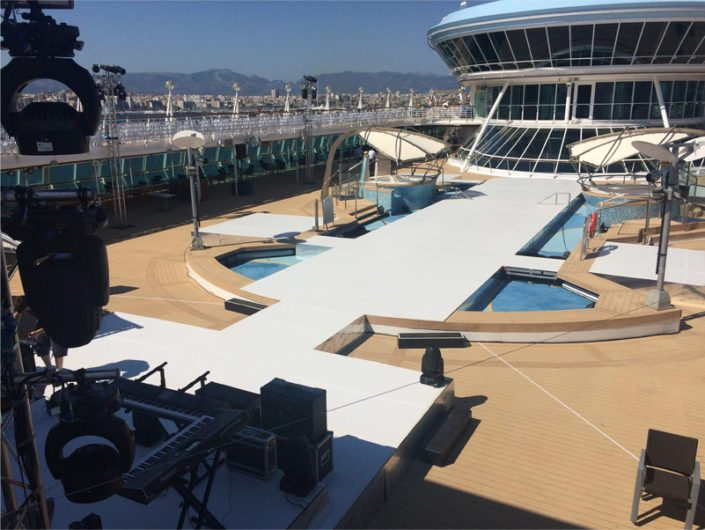 Le Mark Floors' Duo Floor completes stage on the TUI Discovery