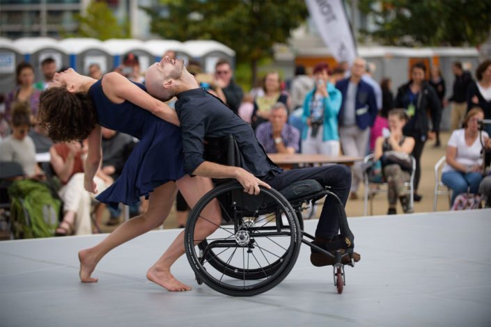 Harmony Dance Floor at the National Paralympic Day