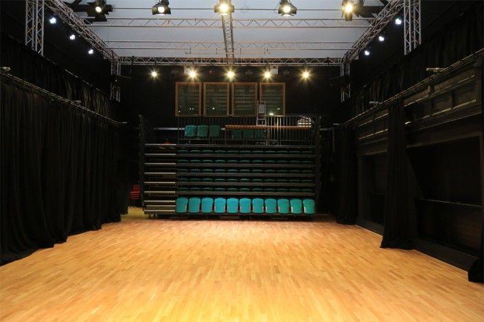 Woodland Sprung Dance Floor at Huddersfield University. Image copyright GJ