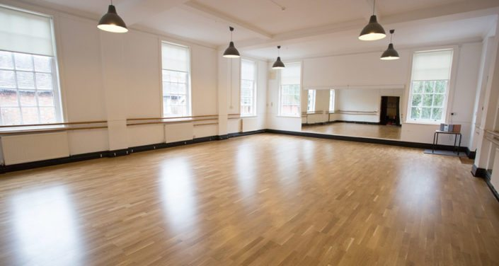 Meadow™ Sprung Floor at Kings Performing Arts College