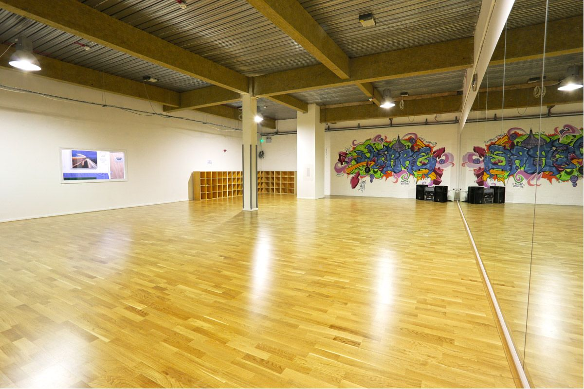 Meadow sprung dance floor le mark floors for Studio floor
