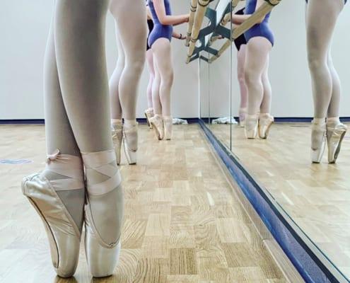 Meadow Wood Sprung Floor at Lucy Evans Academy of Dance