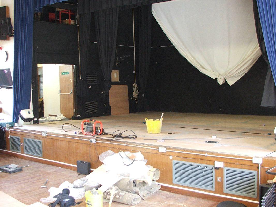 Sonata™ Ballet Floor at Meden School (Before)