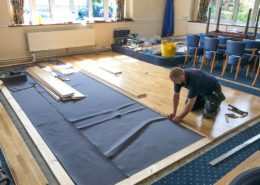 """Installation: Meadow™ Sprung Dance Floor at Peterborough Conservative Club · """""""