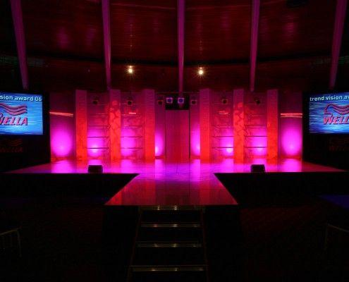 StudioTak™ High Gloss Black Stage Floor for Wella Awards Event