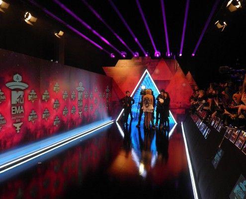 StudioTak™ High Gloss Black Floor at the MTV awards