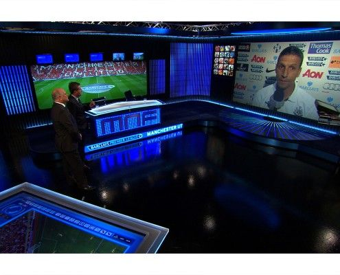 StudioTak™ High Gloss Black Floor at Sky TV