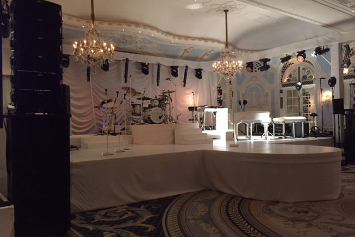 StudioTak™ Stage Floor for John Henry's Ltd.