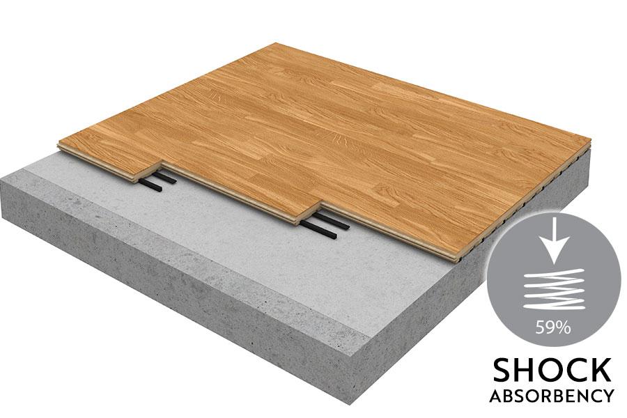 Woodland Sprung Floor for Tap