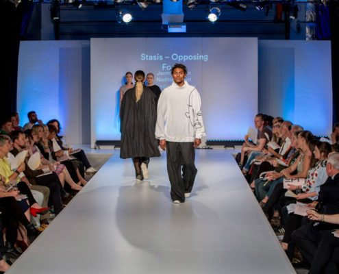 A Slick Catwalk Created With Easy To Install Studiotak