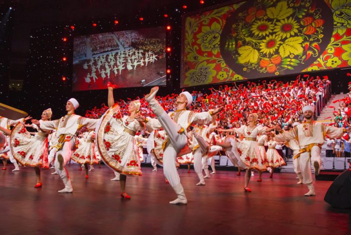 Duo Floor at the World Choir Games