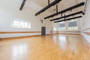 oak topped sprung floor